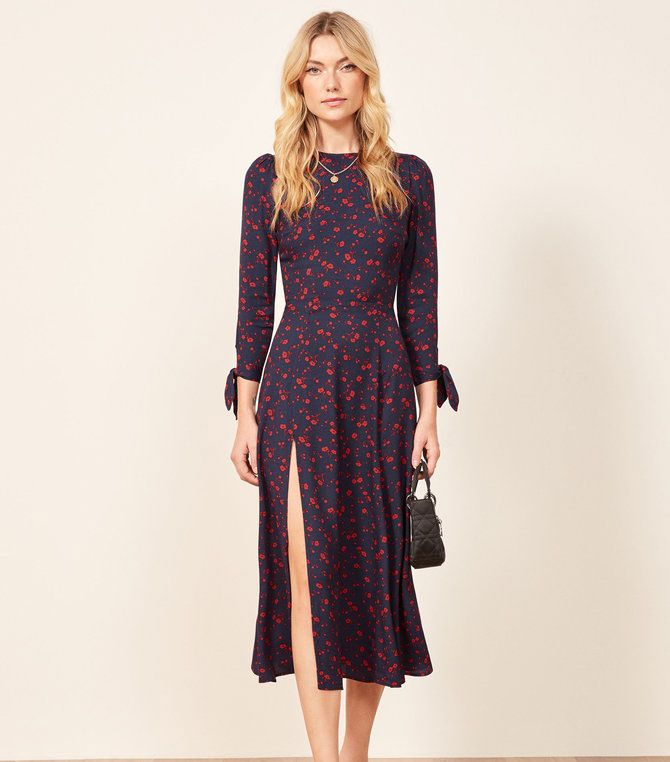 These 7 Dresses Look Amazing With Cowboy Boots Who What Wear