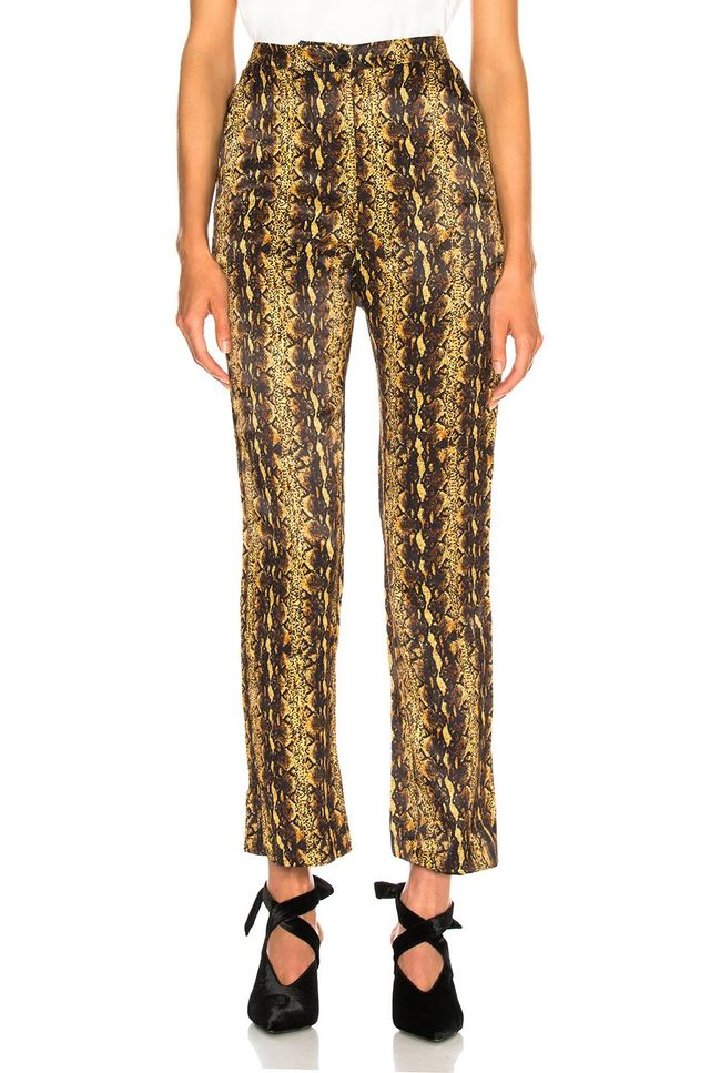 Tailored Crop Flare Trouser