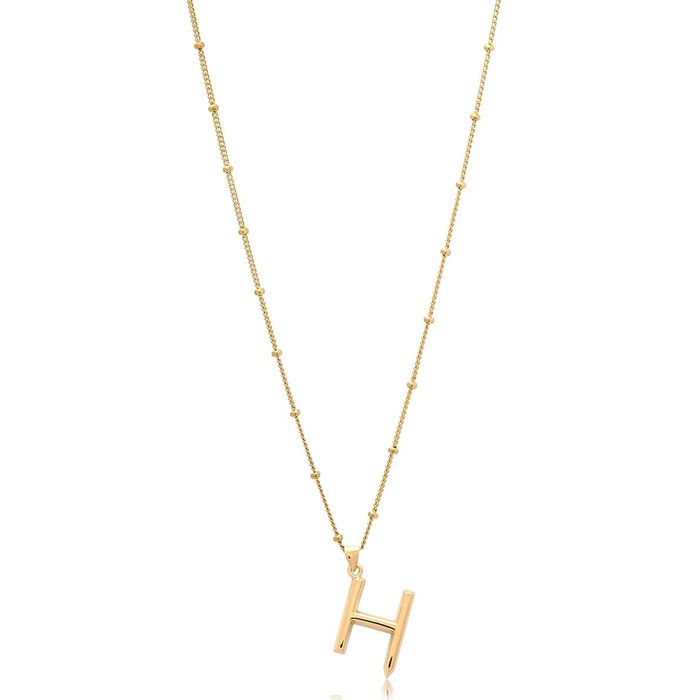 ddb49f8c0 The Best Initial Pendant Necklaces | Who What Wear UK