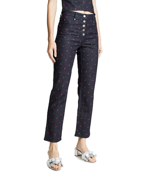 Junior Embroidered Jeans