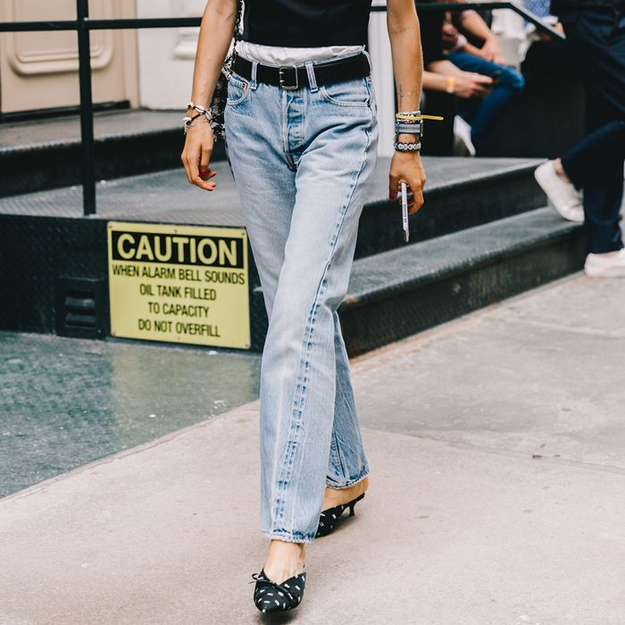0456770cd7 The Only Denim Trends You ll Care About in 2019