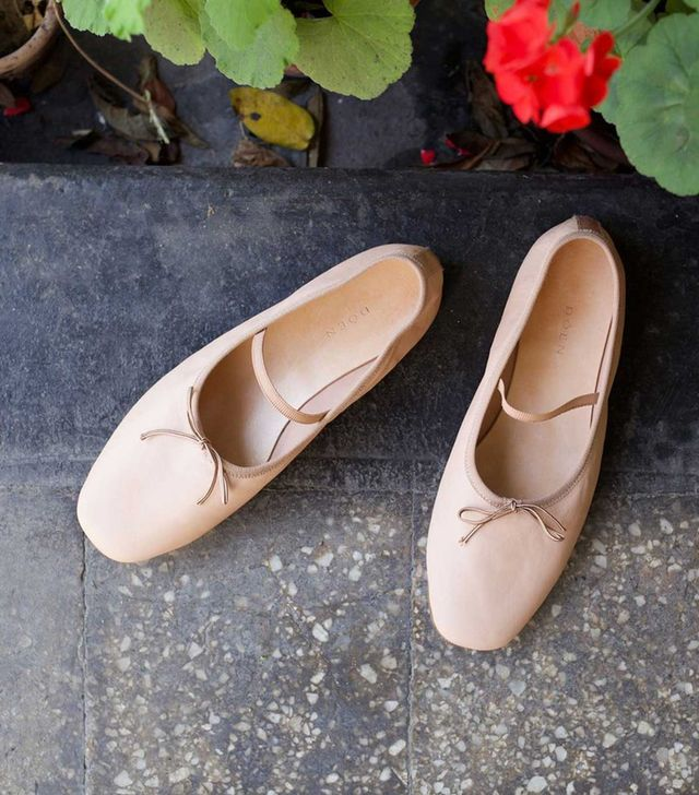 Dôen Plie Ballerina Slippers