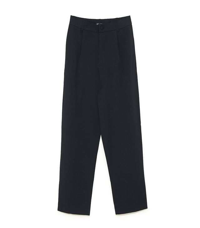 TRF High-Waisted Chino Pants