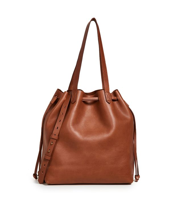 Medium Transport Tote Bag with Drawcord