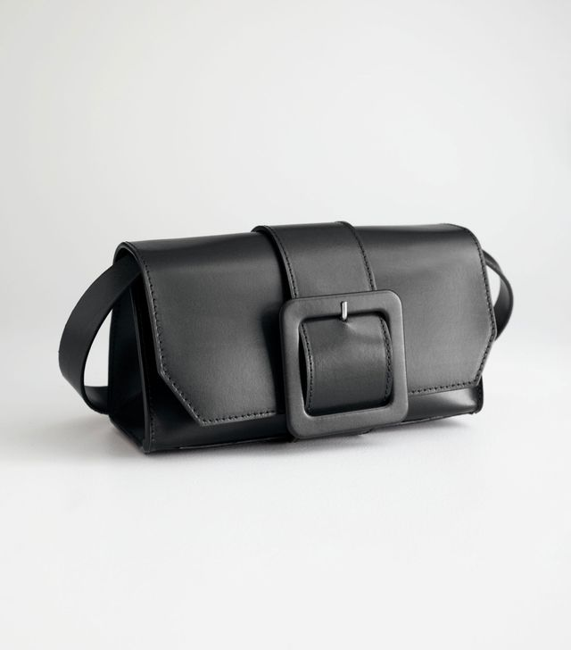 & Other Stories Buckle Crossbody Bag