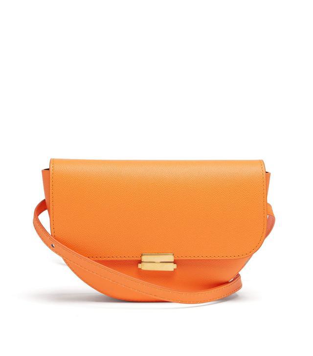 - Anna Large Leather Belt Bag - Womens - Orange