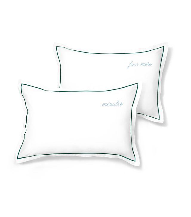 Hill House Home Five More Minutes Pillowcase Set