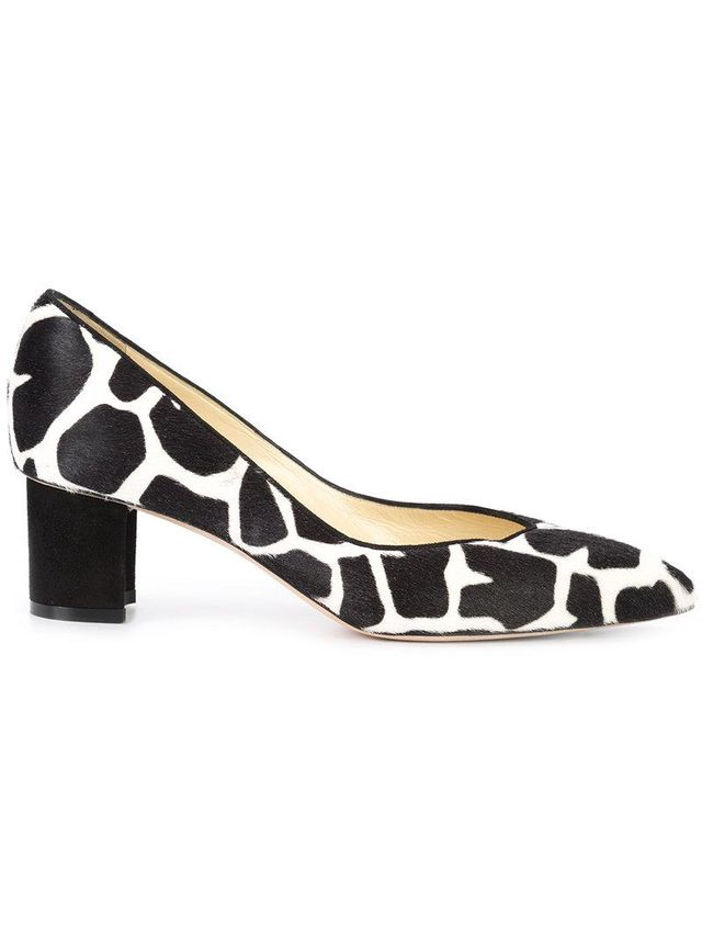 Giraffe Print Pump Shoes