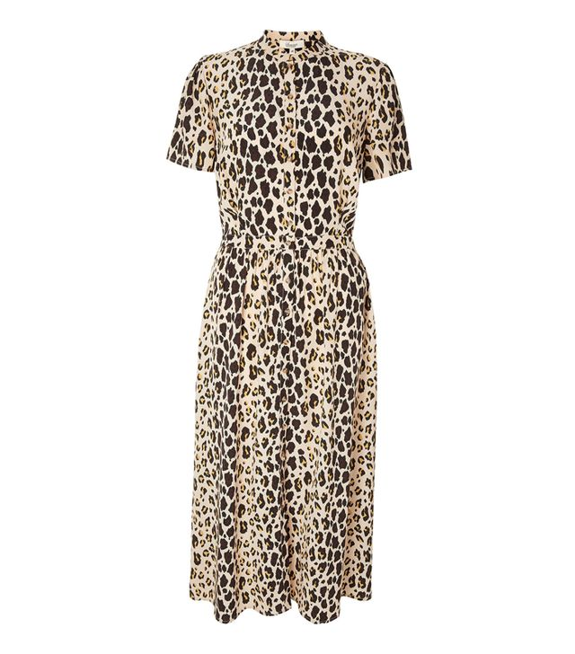 Somerset by Alice Temperley Leopard-Print Shirtdress