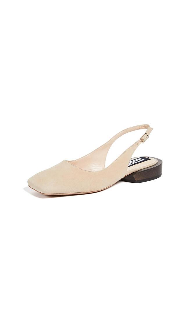 Les Chaussures Praia Slingback Flats