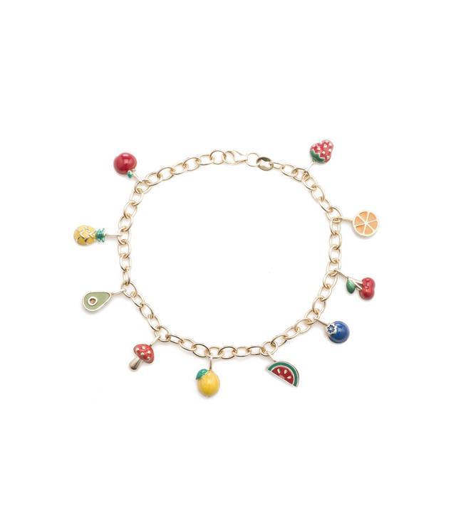 Ariel Gordon Frutta Charm Bracelet