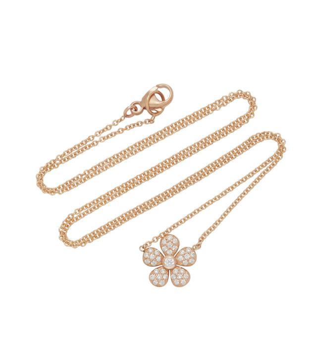 Ivy 18K Rose Gold Pendant Necklace