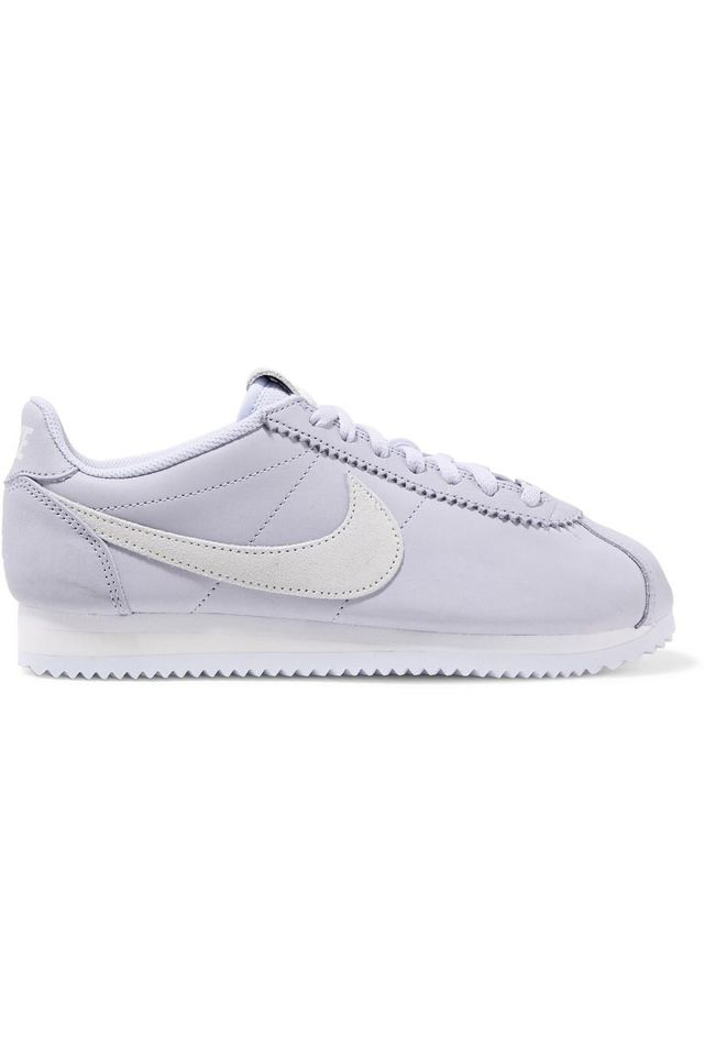 Classic Cortez Leather And Suede Sneakers