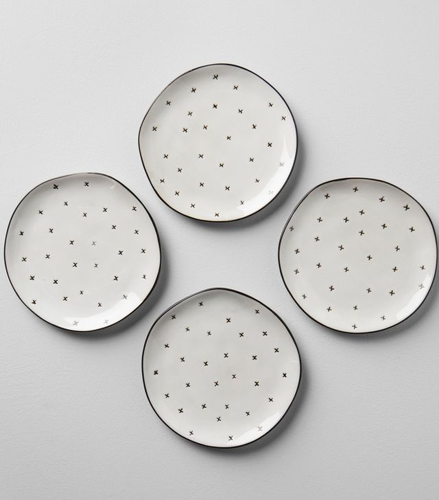 Hearth and Hand for Target X Pattern Stoneware Dessert Plate