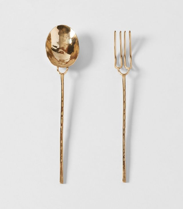 Ann Ladson Forged Bronze Serving Set