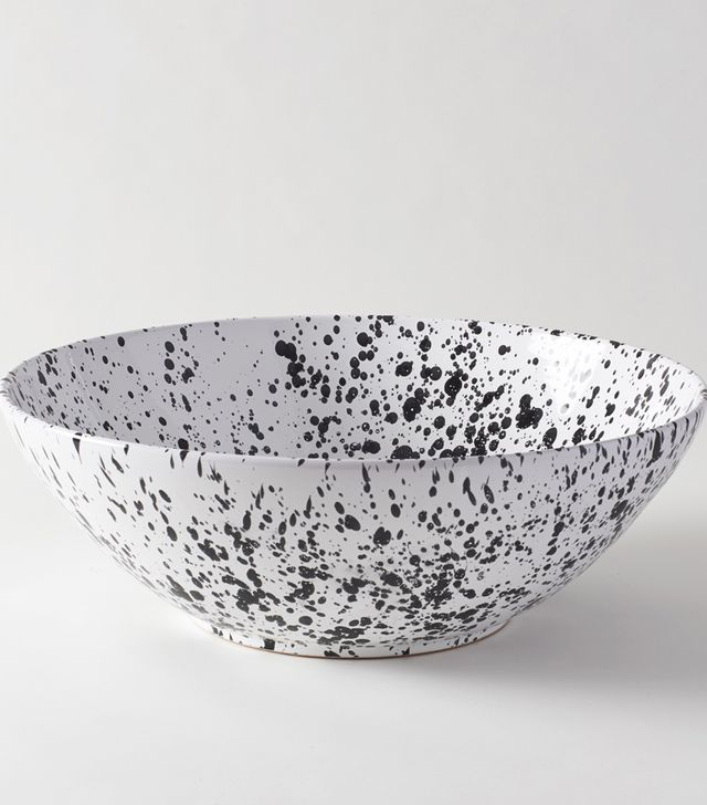 March Splatterware Serving Bowl