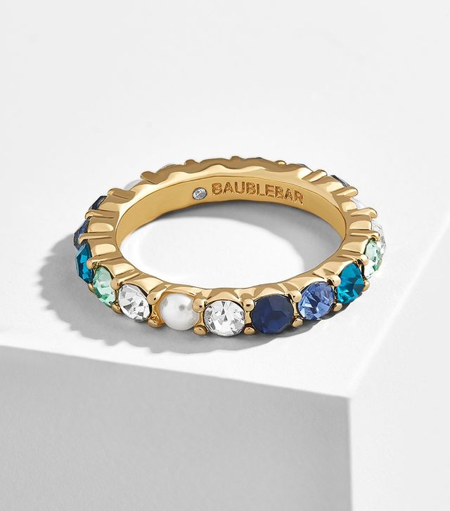 BaubleBar x Micaela Erlanger 7 Days a Week Eternity Ring