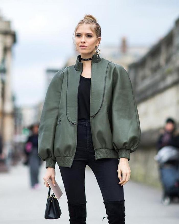 de24a3eda01 Women s Parka Jackets Outfit Ideas 2019. Asos Design DESIGN super skinny  blazer in dark ...