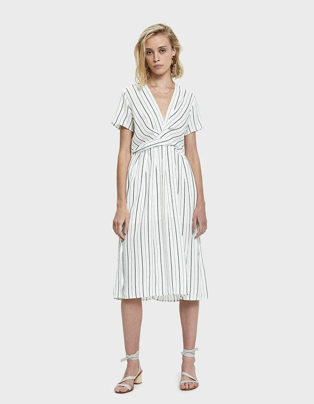 Woven Maternity Holiday Dresses