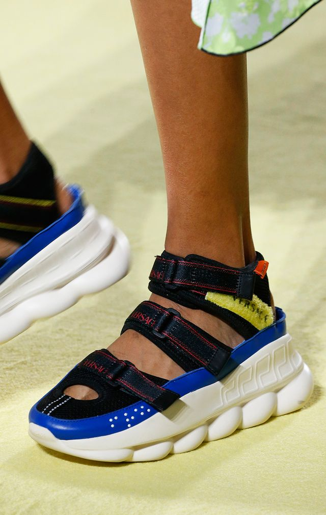 <p>This sneaker trend is for the lazy girl at heart, and we say that with as little judgment as possible. Skip the laces and strap into these Velcro beauties. Whether you're into the chunky and...