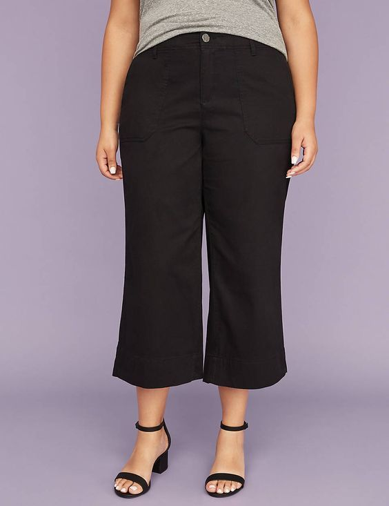 how to build a modest capsule wardrobe with a wide leg crop