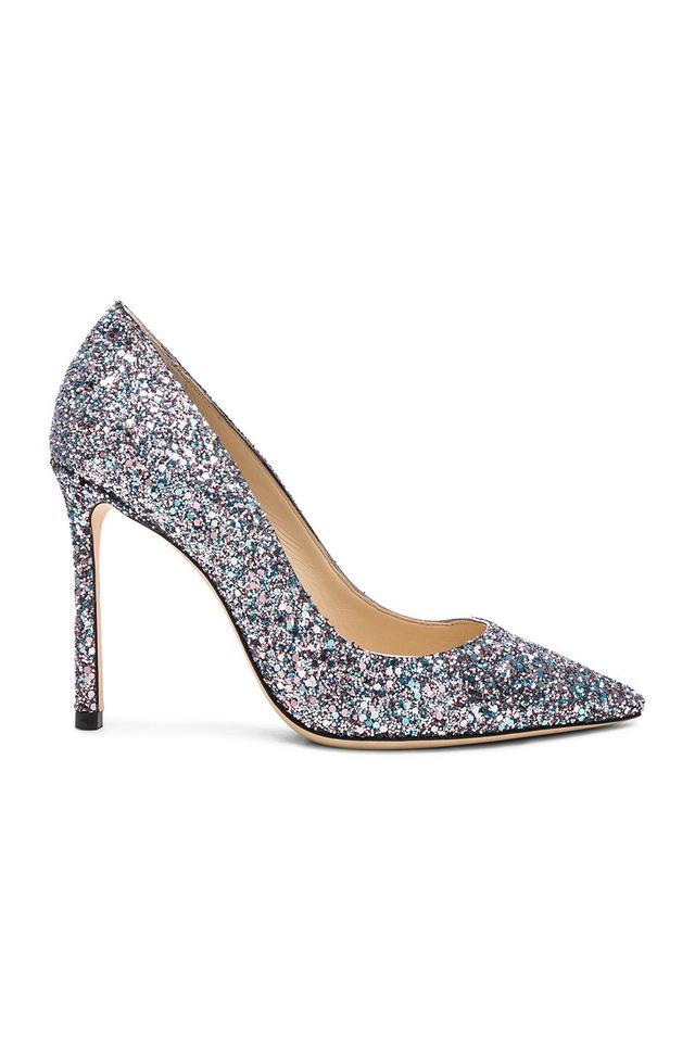 Glitter Romy 100 Heels