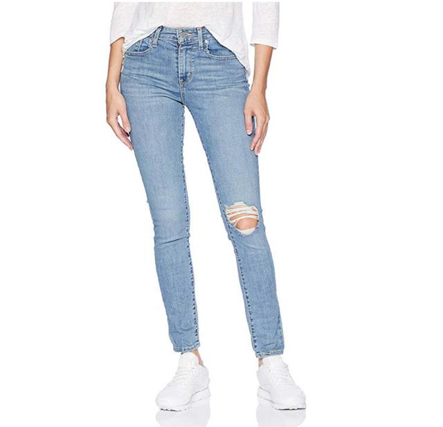 Women's 721 High Rise Skinny Jeans, Distant Landscape, 31 (US 12) R