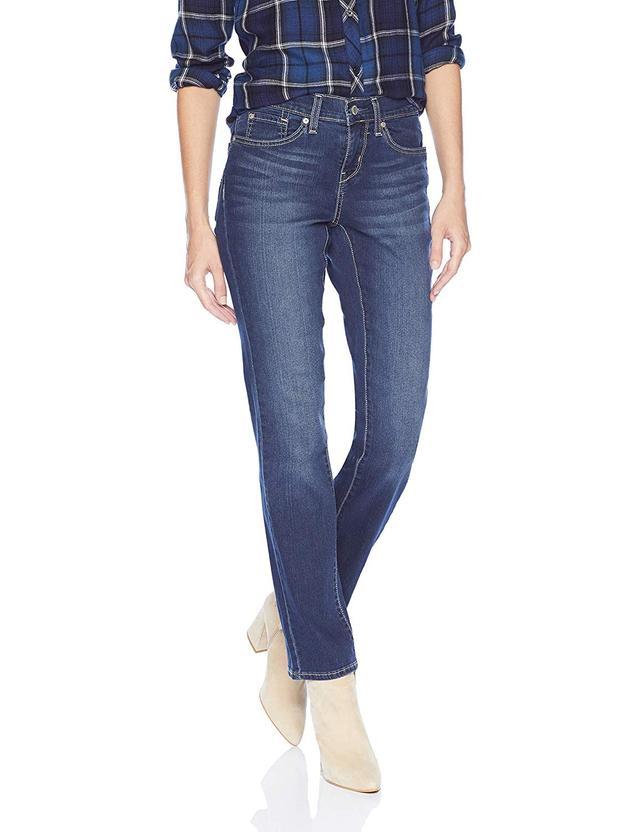 Levi Strauss & Co. Curvy Straight Jeans