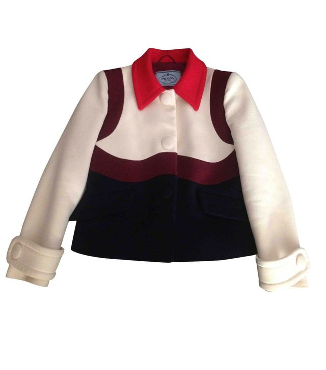 Prada Wool Short Vest