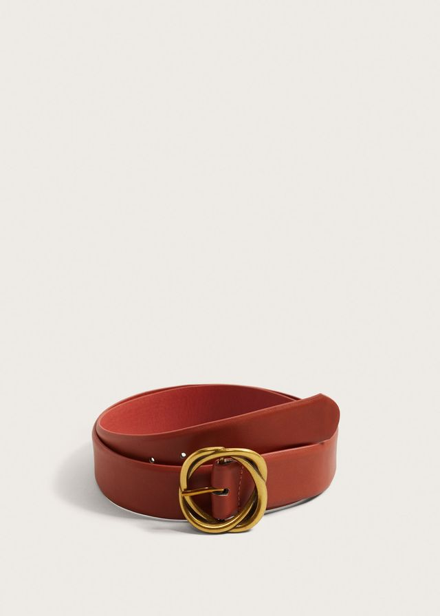 Violeta Metal Buckle Belt