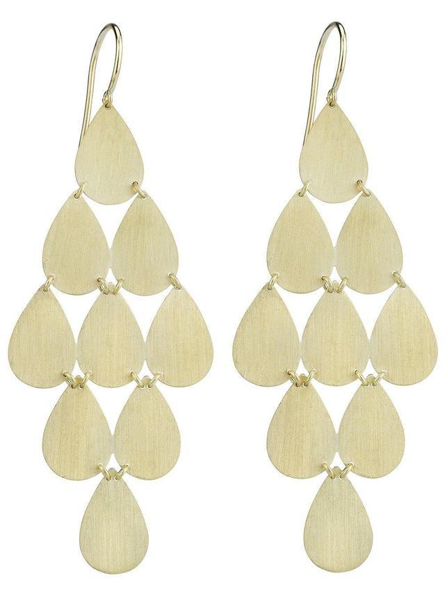 teardrop chandelier earrings