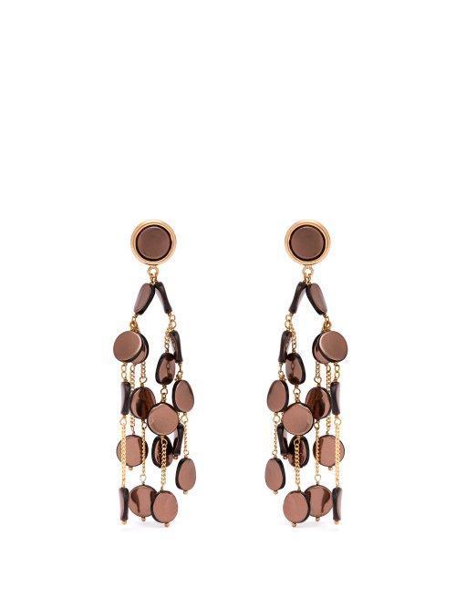 Rosantica by Michael Panero Faville Beaded Chandelier Earrings
