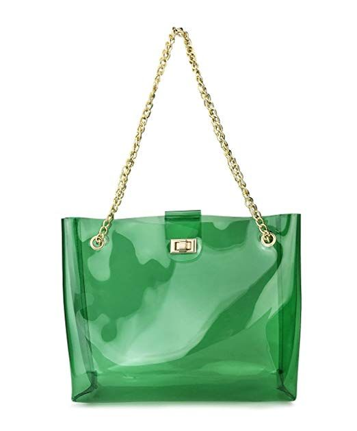 Multifunction Clear Chain Tote