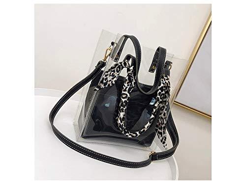 Dinsun Transparent Handbag with Small Purse