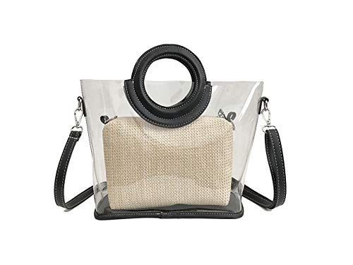 Dinsun Clear Purse with Round Handle
