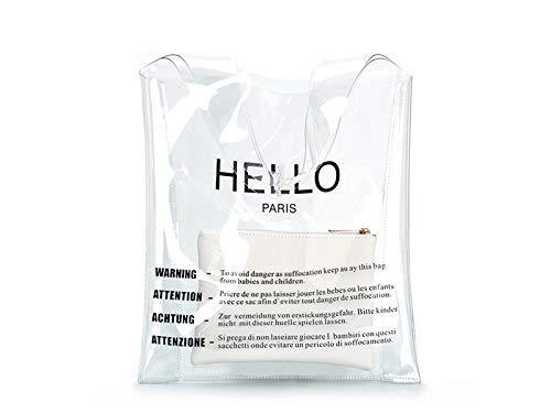 Dinsun Hello Clear Handbag
