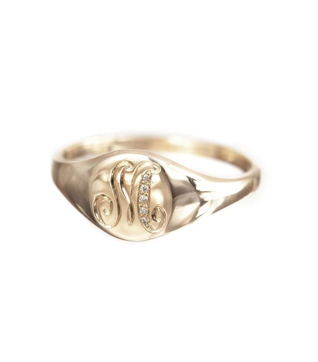 Ariel Gordon Classic Signet Ring