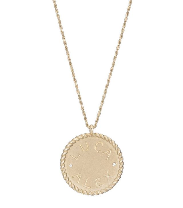Ariel Gordon Imperial Disc Pendant Necklace