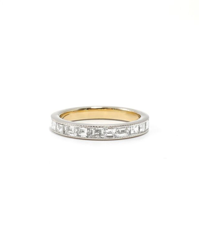 Ashley Zhang Baguette Diamond Eternity Band