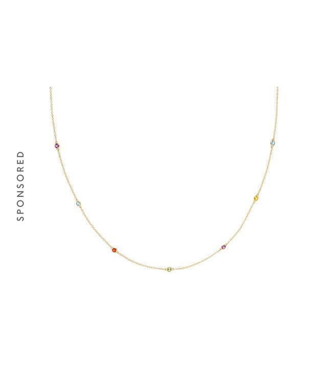 Tacori Lucky 7 Gemstone Station Necklace