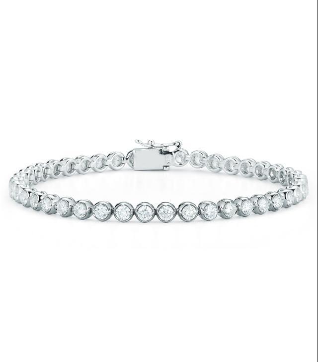 Stephanie Gottlieb Bezel Tennis Bracelet