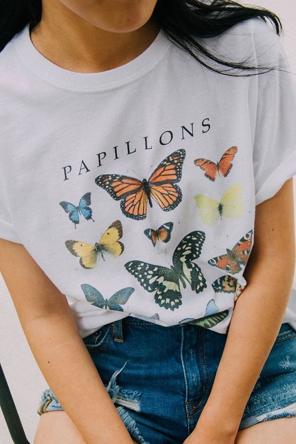 Butterfly Crew-Neck Tee