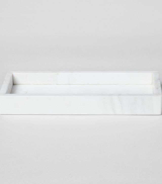 Threshold Rectangle Marble Serving Tray