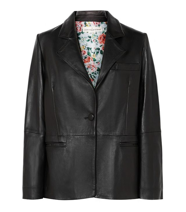 Golden Goose Deluxe Brand Ermada Leather Blazer
