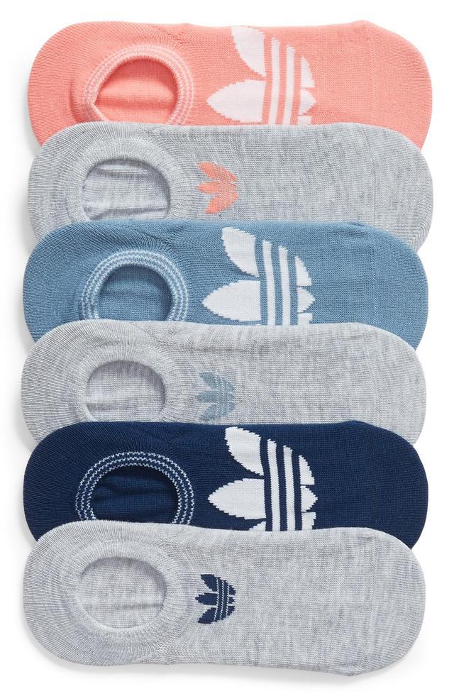 Women's Adidas 6-Pack Trefoil Superlite No-Show Socks