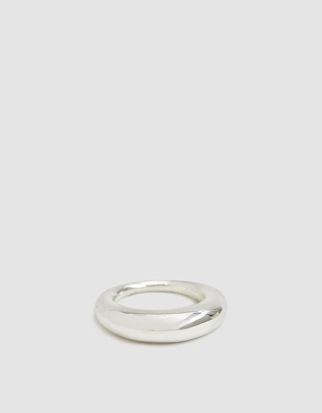 Polished Fat Snake Ring