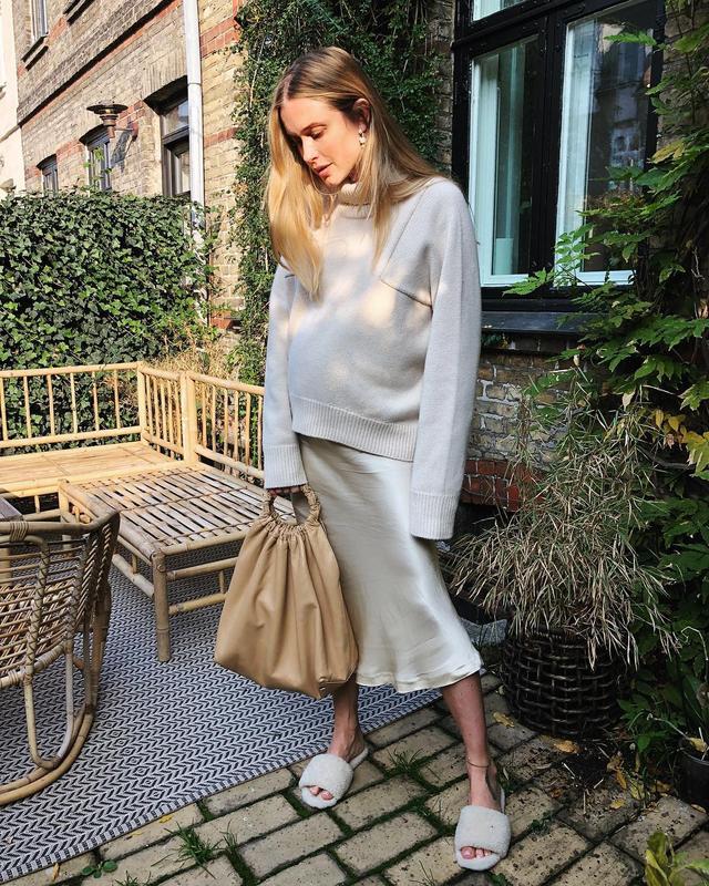 Classic wardrobe staples: slip skirts