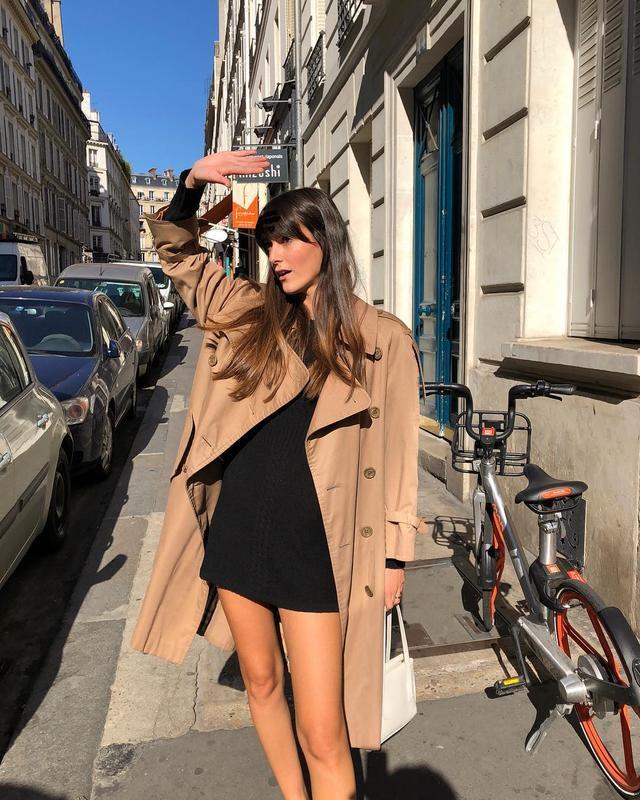 Classic wardrobe staples: trench coat