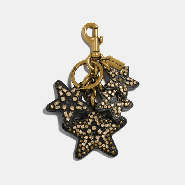 Coach Clustered Stars Bag Charm