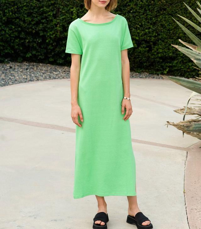 Pixie Market Lime Open Back Dress